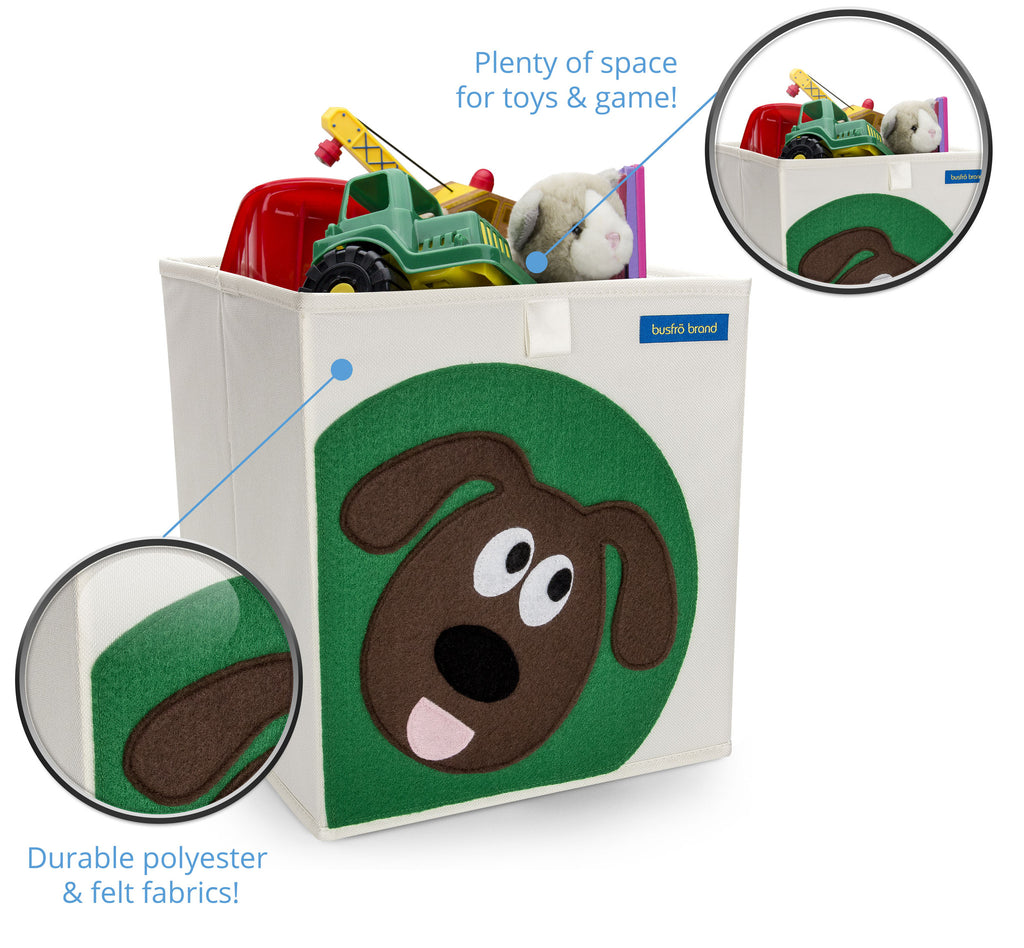 Foldable Storage Bin (Dog)