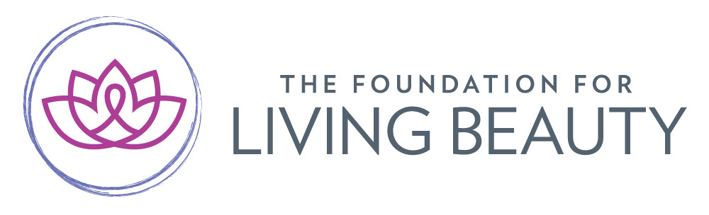 The Foundation for Living Beauty Logo