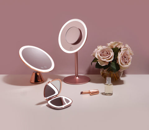 Good luck! You are entered to win a Nala, Lana, or Mila lighted mirror - your choice!