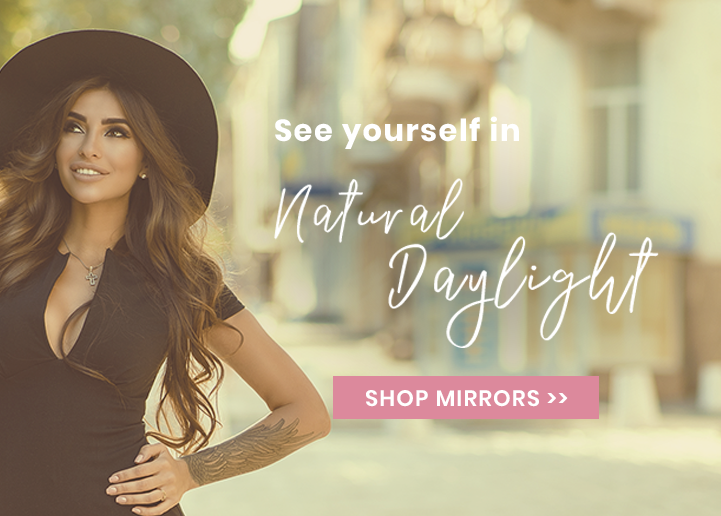 Fancii Natural Daylight Makeup Mirrors