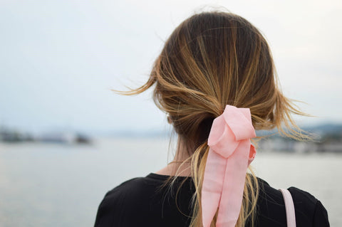 fall hairstyle ponytail