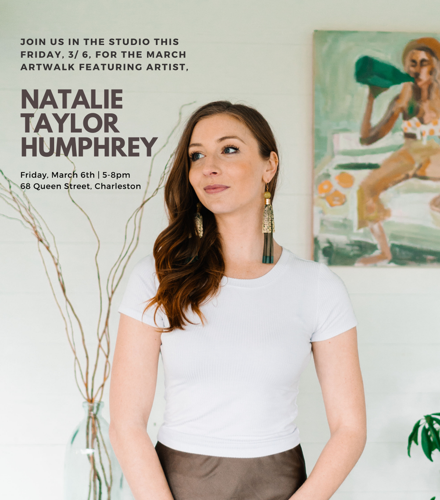 March ARTWALK ft. Artist Natalie Taylor at Jahde Leather Atelier