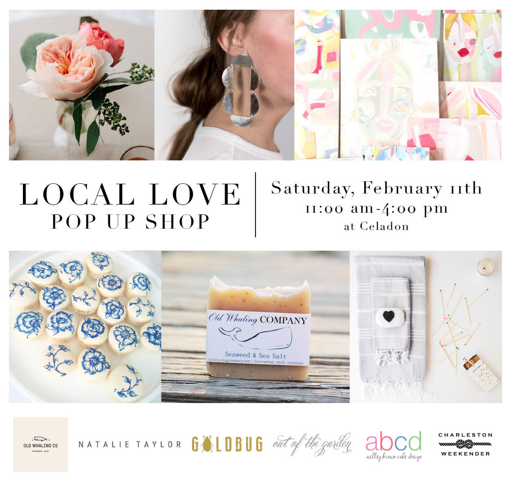 CELADON'S LOCAL LOVE POP-UP