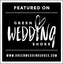 as seen on Green Wedding Shoes blog