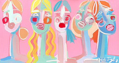 PINK LEMONADE LADIES - 15X30