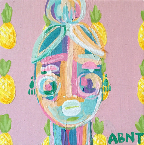 "Pineapples for Harper. 5x5"" - Natalie Taylor"
