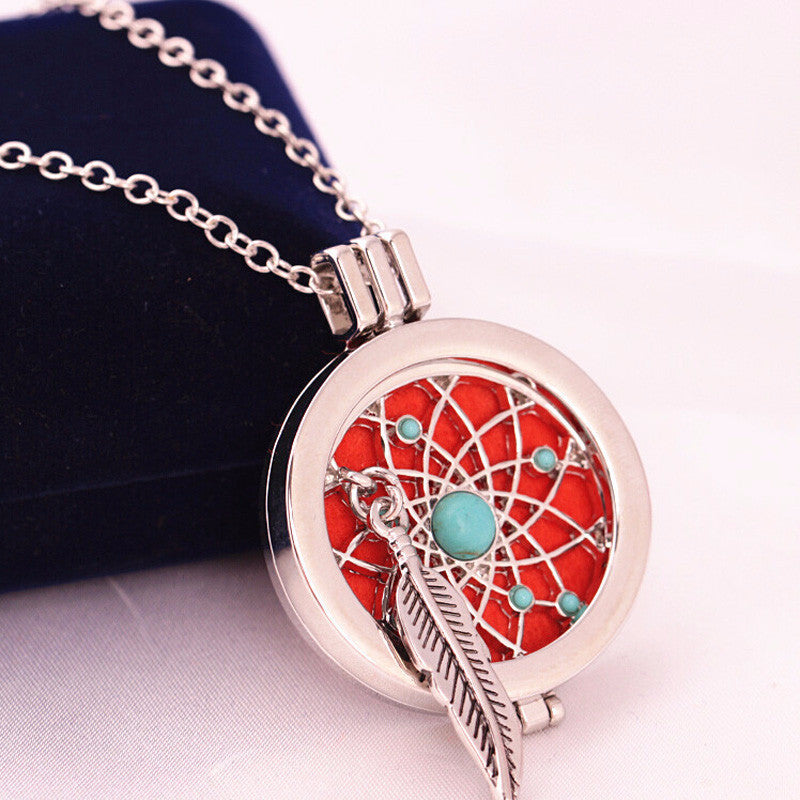 'Dream Catcher' Locket Necklace Diffuser