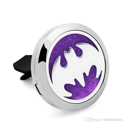 'Bat' Locket Essential Oil Car Diffuser