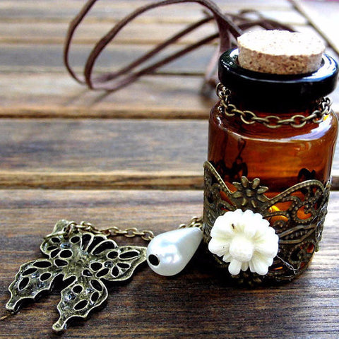 'Butterfly' Essential Oil Bottle  Diffuser