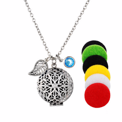 'Freedom' Lava Stone Necklace Diffuser