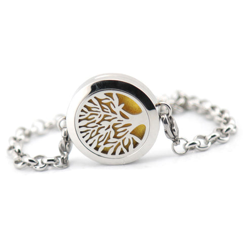 'Family Tree' Locket Essential Oil Bracelet Diffuser