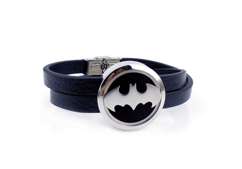'Bat' Locket Essential Oil Bracelet Diffuser