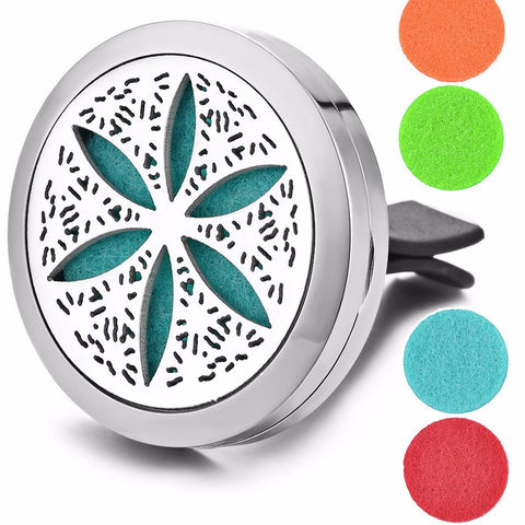 'Flower' Essential Oil Car Diffuser