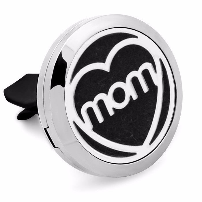 'Mom' Essenital Oil Car Diffuser