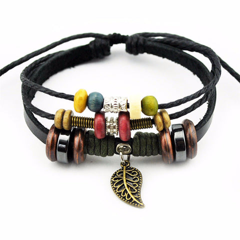 'Forever' Leather Essential Oil Bracelet Diffuser