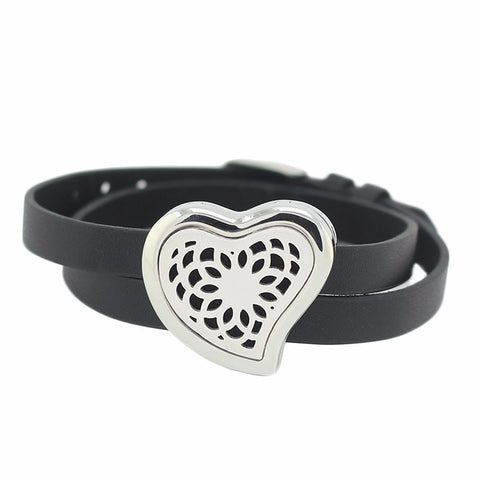 'Lovely' Locket Essential Oil Bracelet Diffuser