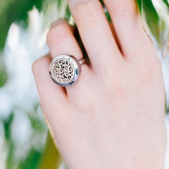 'Everything' Essential Oil Ring Diffuser