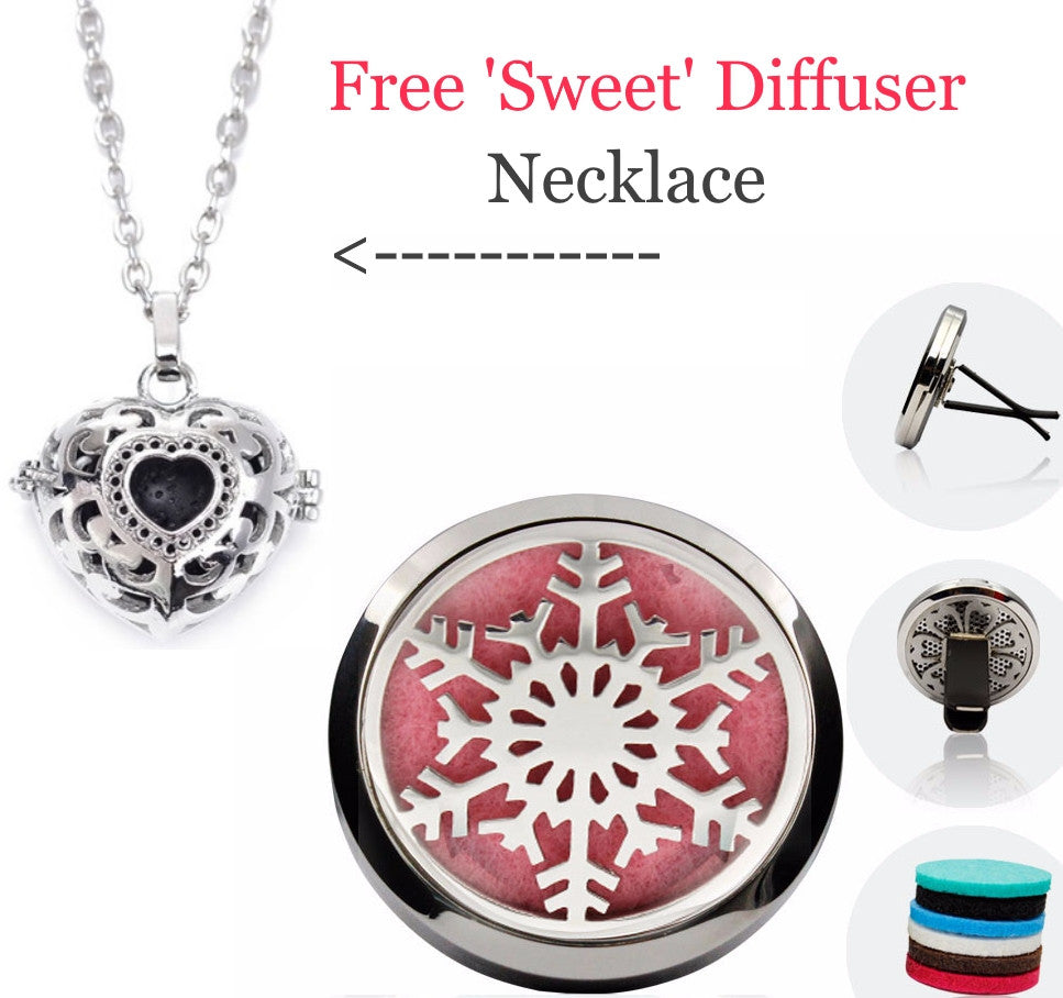 'Signature Bundle Deal' Car & Necklace Diffuser