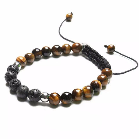 'Always Tiger Eye' Lava Stone Bracelet Diffuser