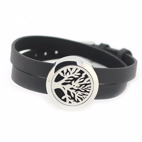 'Tree of Life' Locket Essential Oil Bracelet Diffuser
