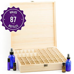 Wooden Essential Oil Display Case