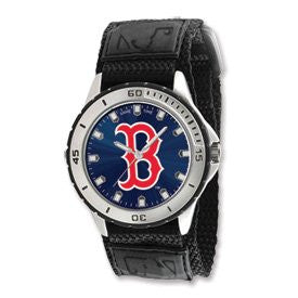 Mens Mlb Boston Red Sox B Logo Veteran Watch, Best Quality Free Gift Box Satisfaction Guaranteed - shopvistar