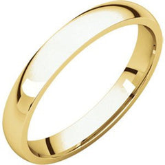 10K Yellow Gold Light Comfort Fit Band, Size: 9.5 - shopvistar