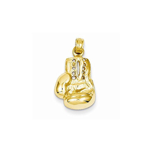 14k Lg Boxing Glove Charm, Best Quality Free Gift Box Satisfaction Guaranteed - shopvistar