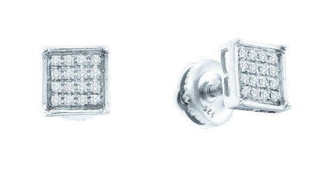 0.25ctw Diamond Micro-pave Earrings - shopvistar