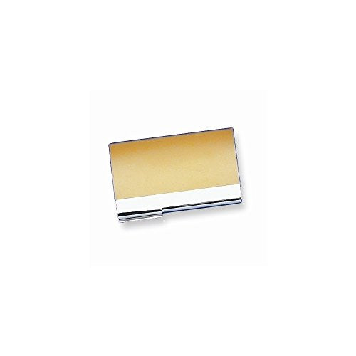 Brass-plated Plain Business Card Case - shopvistar