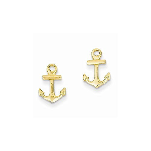 14K Anchor Post Earrings, Best Quality Free Gift Box Satisfaction Guaranteed - shopvistar