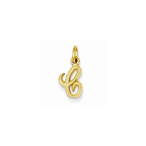 14ky Casted Initial C Charm, Best Quality Free Gift Box Satisfaction Guaranteed - shopvistar