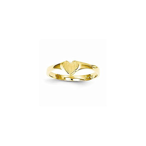14k Children's Heart Ring - shopvistar