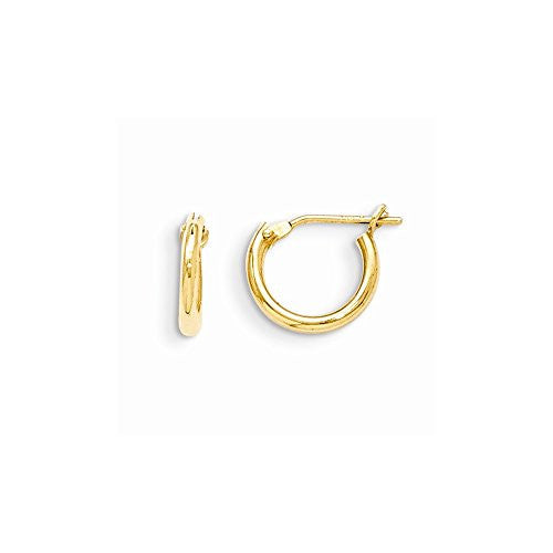 14k Madi K Hoop Earrings, Best Quality Free Gift Box Satisfaction Guaranteed - shopvistar