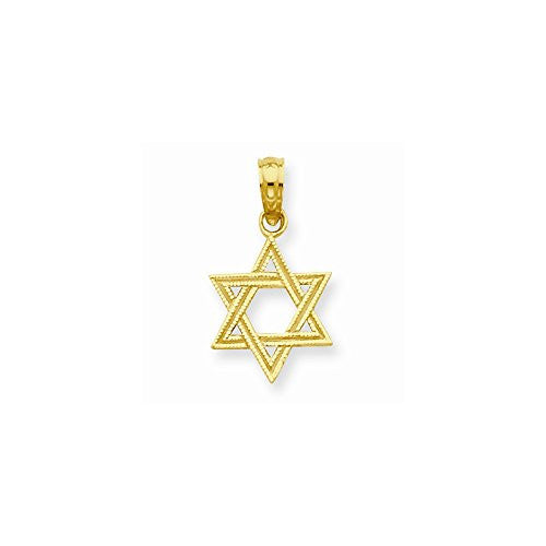 14K Star of David Pendant, Best Quality Free Gift Box Satisfaction Guaranteed - shopvistar