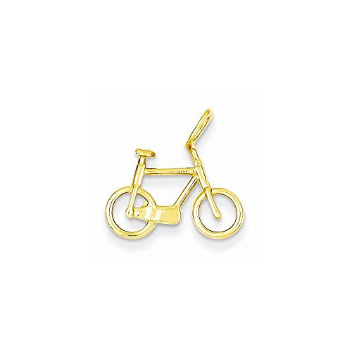 14k Exercise Bicycle Charm, Best Quality Free Gift Box Satisfaction Guaranteed - shopvistar