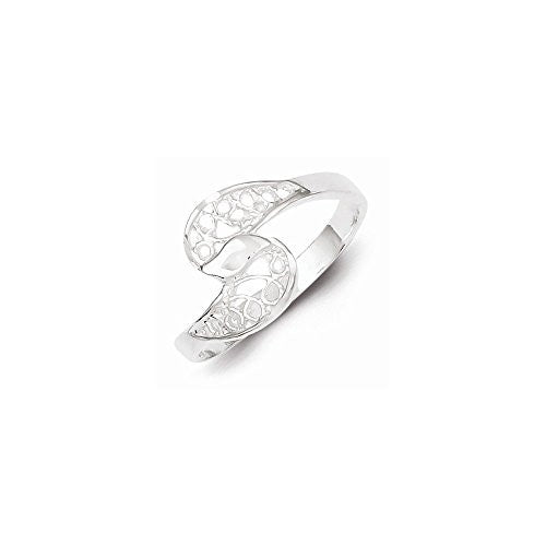 Sterling Silver Filigree Ring, Best Quality Free Gift Box Satisfaction Guaranteed - shopvistar