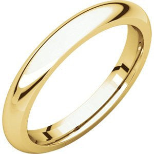 10K Yellow Gold Comfort Fit Band, Size: 15 - shopvistar