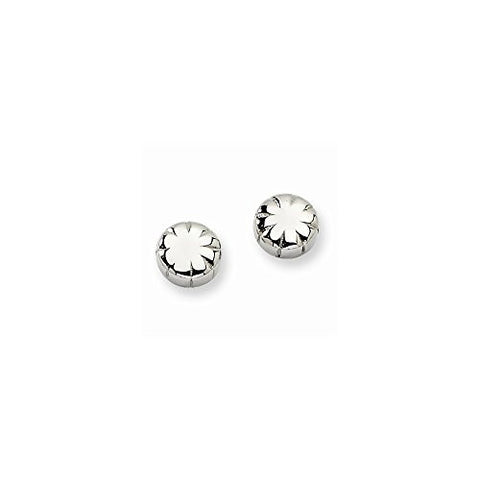 Stainless Steel Fancy Post Earrings - shopvistar