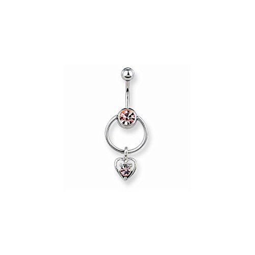 Set of 3 Belly Button Rings - shopvistar