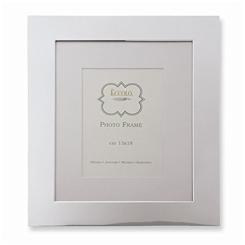 Silver-plated 8 X 10 Photo Frame - shopvistar