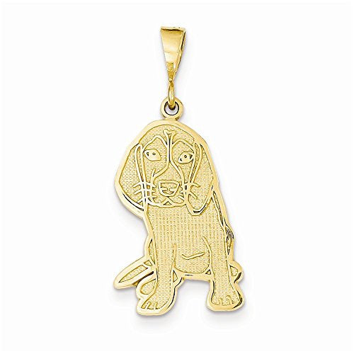 14k Beagle Pendant, Best Quality Free Gift Box Satisfaction Guaranteed - shopvistar