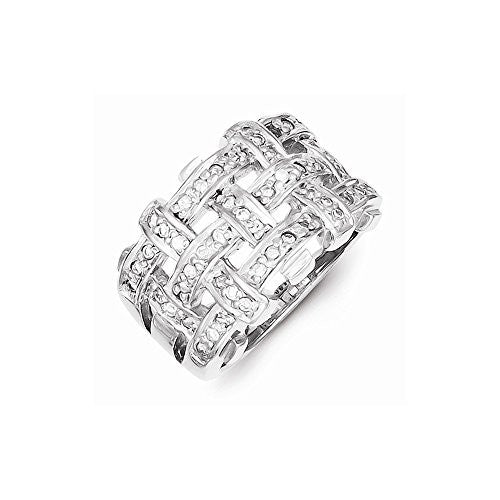 Sterling Silver Cz Ring, Best Quality Free Gift Box Satisfaction Guaranteed - shopvistar
