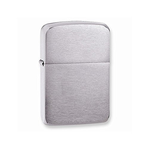 Zippo 1941 Replica Brushed Chrome Lighter - shopvistar