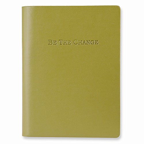 Be the Change Faux Leather Essentials Journal - shopvistar