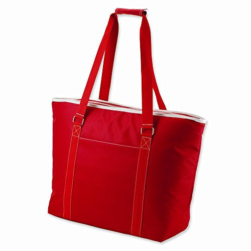 Tahoe, Red Extra large insulated shoulder tote - shopvistar