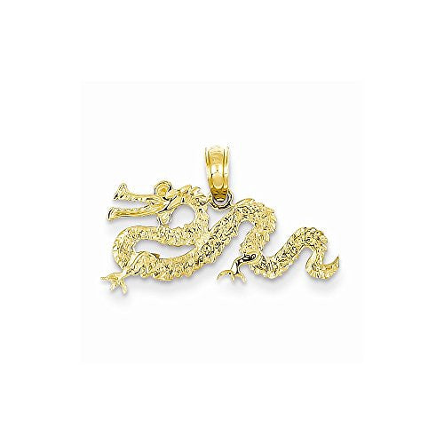 14k Dragon Pendant, Best Quality Free Gift Box Satisfaction Guaranteed - shopvistar