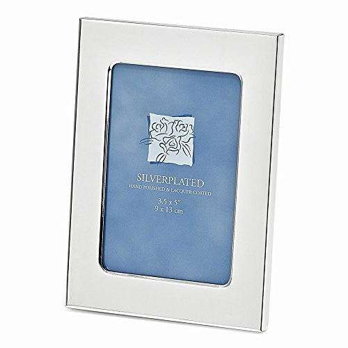 Silver-plated Classic 3.5x5 Photo Frame - shopvistar