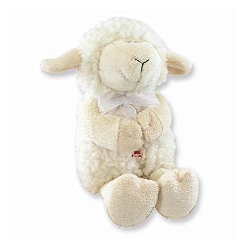 Plush Jesus Loves Me Praying Lamb Toy - shopvistar