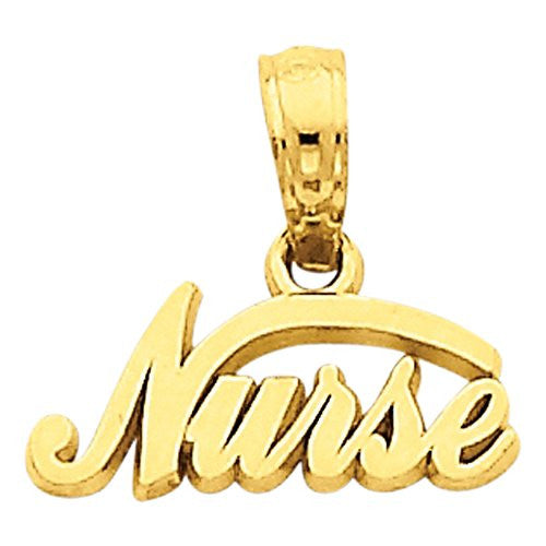 14k Nurse Pendant, Best Quality Free Gift Box Satisfaction Guaranteed - shopvistar